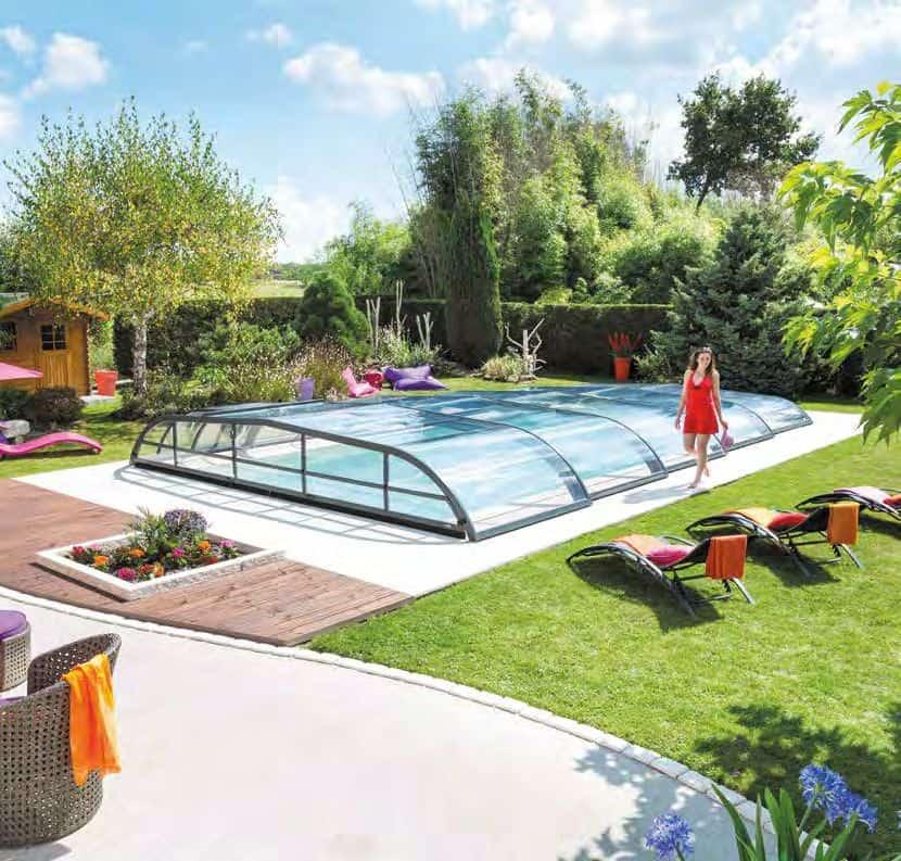Véranda pour piscine Saint Quentin