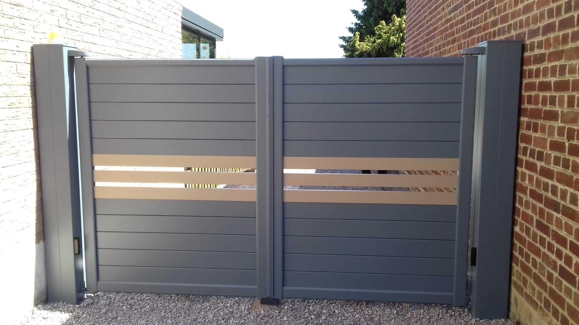 Installation de portail design