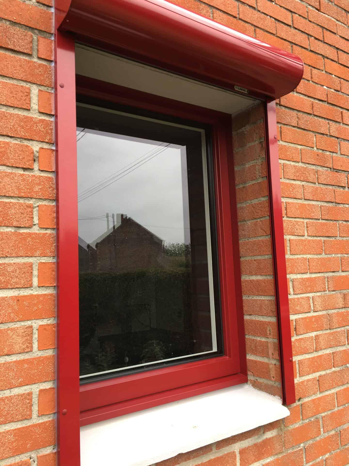 Petite fenêtre installation