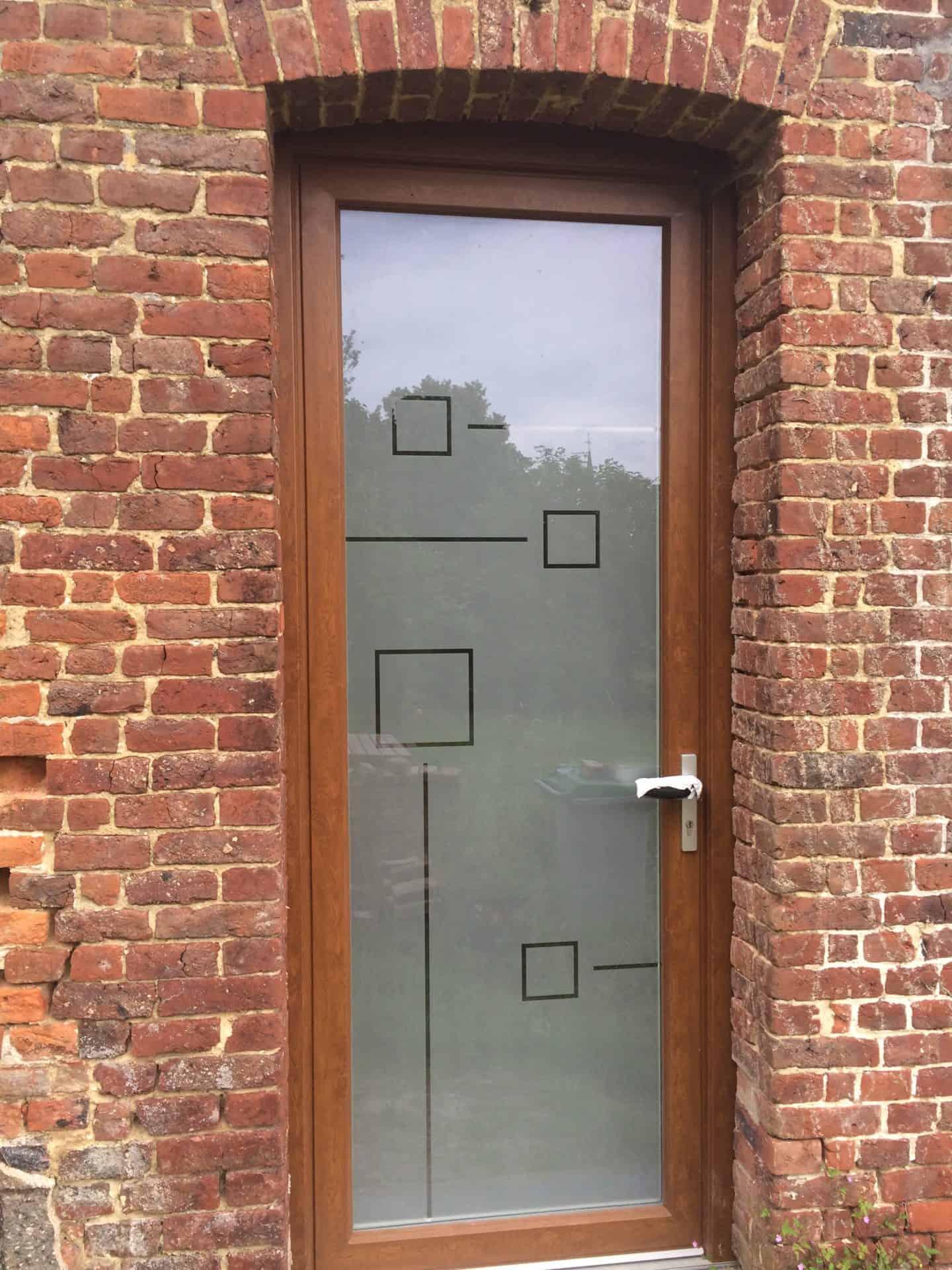 Porte d'entrée Vertain
