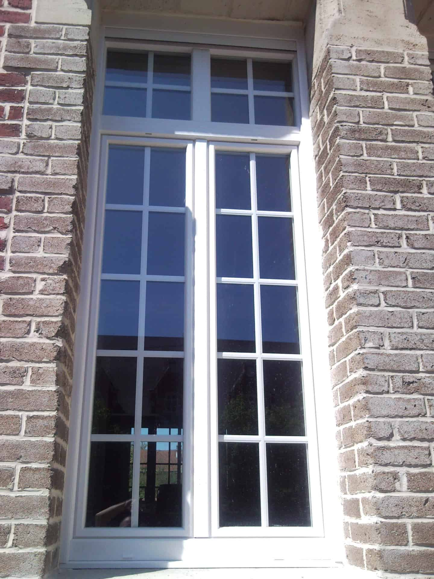 Pose de fenêtres sur Denain